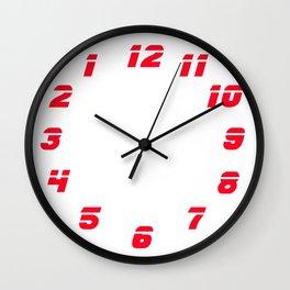 Blade Runner style clock Wall Clock