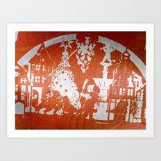 X-mas Eve Art Print