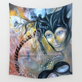 Birth of Pearl Wall Tapestry