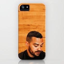 jesse williams #1 iPhone Case
