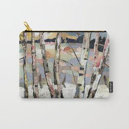 Birches in witnter Carry-All Pouch