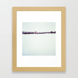 Frosted Wheat Framed Art Print