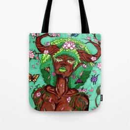 Tree of Life-Taurus Woman Tote Bag