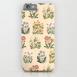 Wild Flowers ~ vol4. ~ light  iPhone Case