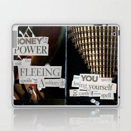 Money for Power Print Laptop & iPad Skin