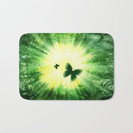 "The sun and the ""Butterfly - Effect""! Bath Mat"