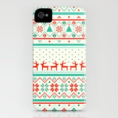 Festive Fair Isle iPhone (4, 4s) Slim Case