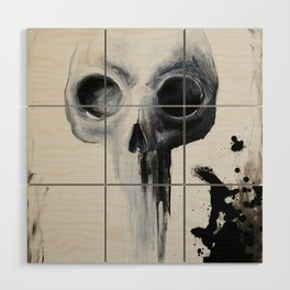 Skull Wood Wall Art