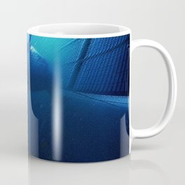 'Sea Change' Environmental Magical Realism 'Save our Oceans' Portrait Coffee Mug