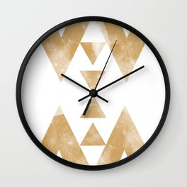 MOON MUSTARD Wall Clock