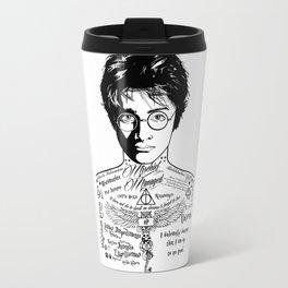 Harry Tattoo Potter Travel Mug