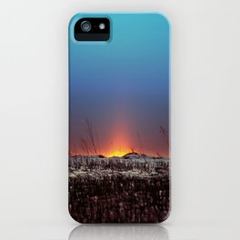 Winter Sun Rising iPhone Case