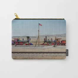 Golden Spike Meeting of Railroads National Historic Site Utah Carry-All Pouch