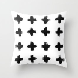 Brushed Across Throw Pillow