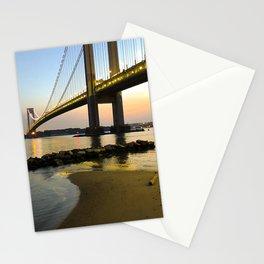 Sunset at the Verrazzano-Narrows Bridge Stationery Cards