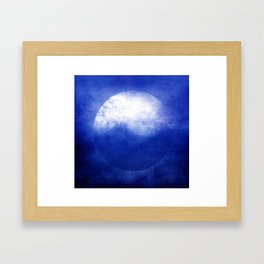 Circle Composition V Framed Art Print