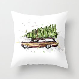 Perfect Christmas Tree Throw Pillow