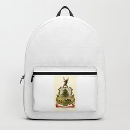 Vermont State Historical Coat of Arms Backpack