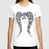 sonic T-shirts featuring Sonic Angel by Hollie B