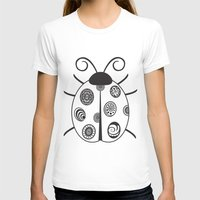 ladybug T-shirts featuring Ladybug by Amy Caldwell