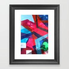 Stitch on me Framed Art Print