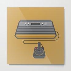 Retro Gaming - Atari Metal Print