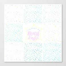 Heart Smile Canvas Print