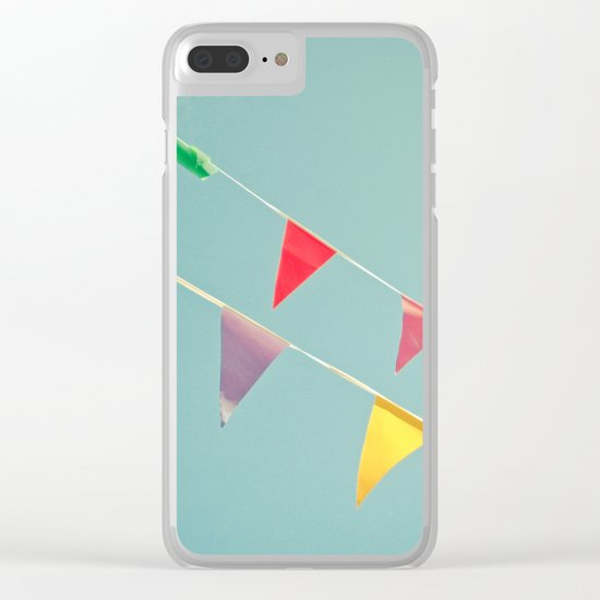 A Celebration Clear iPhone Case