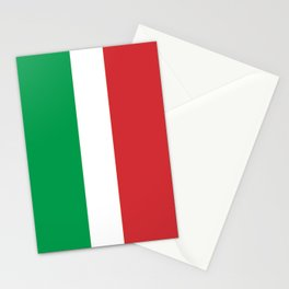 Flag of Italy - High quality authentic version Stationery Cards