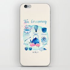 Tea Ceremony iPhone & iPod Skin
