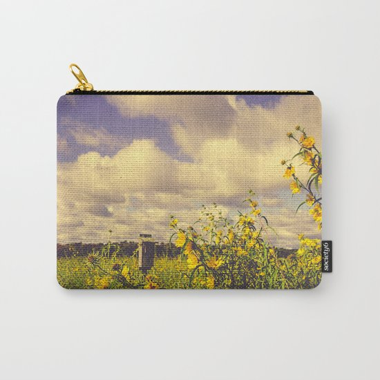 Field of Happiness Carry-All Pouch