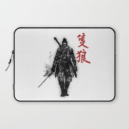 One Armed Wolf Laptop Sleeve
