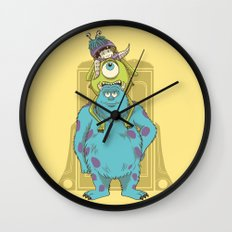 Monster Inc. Wall Clock