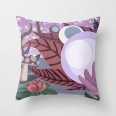 Moonlighting Throw Pillow