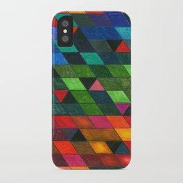 Pattern #1 Tiles iPhone Case