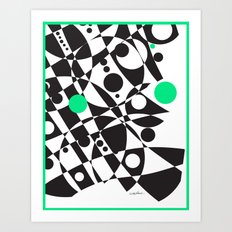 A Touch of Verde Art Print