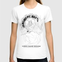 video game T-shirts featuring Video Game Design by Verdant Winter