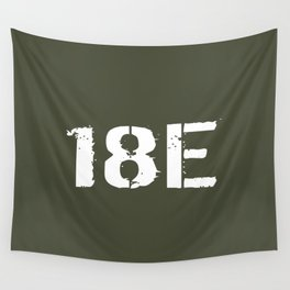 18E Special Forces Communications Wall Tapestry