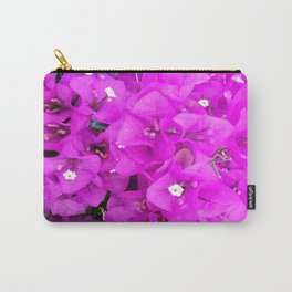 Backyard Beauty - Purple Petals Carry-All Pouch