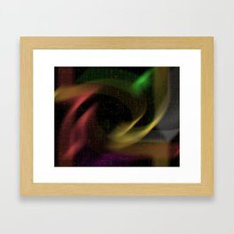 abstract colourart Framed Art Print