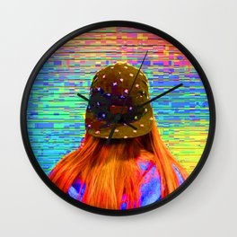 When You Knock Me Down... Wall Clock