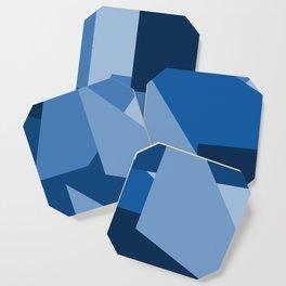 Blu-Geometric Coaster