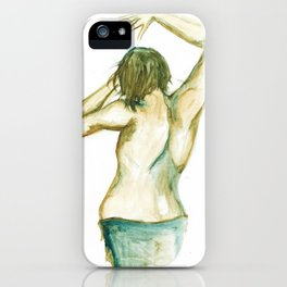 Dancing Boy iPhone Case