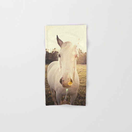 Sunlit Horse Hand & Bath Towel