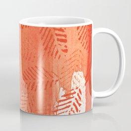 Tomato red abstract painting Coffee Mug