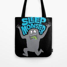 Sleep Monster Tote Bag