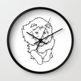 3D Lion Wall Clock