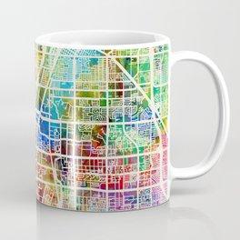 Las Vegas City Street Map Coffee Mug