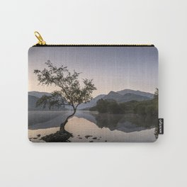 Tree at Llyn Padarn V Carry-All Pouch