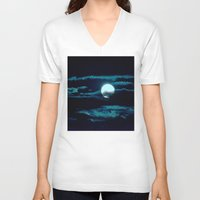 howl V-neck T-shirts featuring Howl by Lunar Eclipse